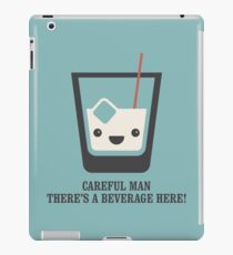 The Big Lebowski - White Russian - Careful Man, There's a Beverage Here! iPad Case/Skin