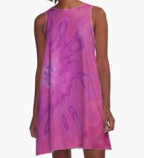 Sunny Rose (Tie Dye) A-Line Dress