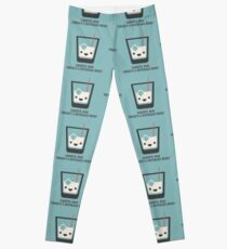 The Big Lebowski - White Russian - Careful Man, There's a Beverage Here! Leggings