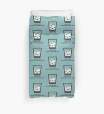 The Big Lebowski - White Russian - Careful Man, There's a Beverage Here! Duvet Cover