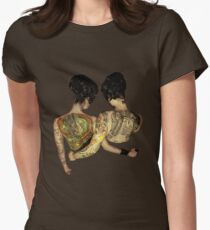 Siamese Twins  Women's Fitted T-Shirt