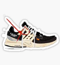 Presto Off-White Sticker