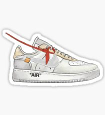 AIR FORCE 1 OFF WHITE Sticker