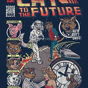 Cat to the Future by Punksthetic