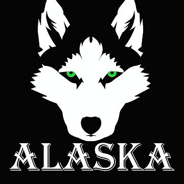 Siberian Husky Cute Funny Husky Dog Alaska Husky by AlaskaCC