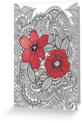 Wall flower by Tuky Waingan