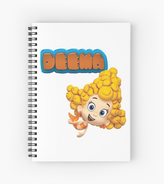 Cuadernos de espiral «DEEMA - GUPPIES DE BURBUJAS» de Rich Taylor ...