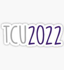 tcu 2022 Sticker