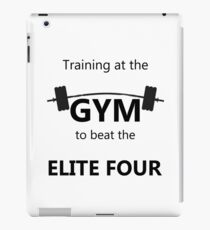 Elite Four Gym Shirt iPad Case/Skin