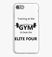 Elite Four Gym Shirt iPhone Case/Skin