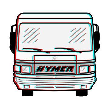 CLASSIC HYMER MERCEDES 3D by TommyRegan