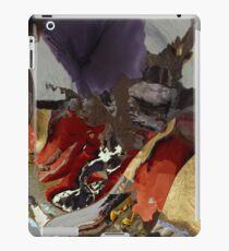 Looks like lava erupting iPad Case/Skin