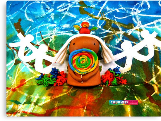 CHUNKIE Lollipop Lover by © Karin Taylor