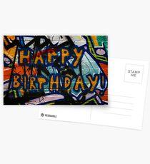 Happy Birthday Postcards