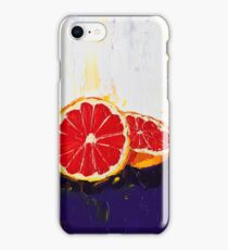 Where Has My Grapefruit Gone? iPhone Case/Skin