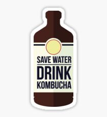 Save Water - Drink Kombucha Sticker