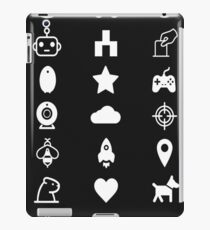 Black Black Mirror iPad Case/Skin