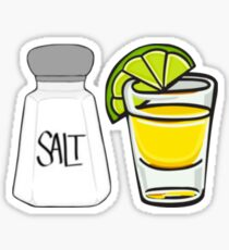 Salt Lime and Tequila Sticker