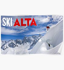 Ski Alta Poster Poster