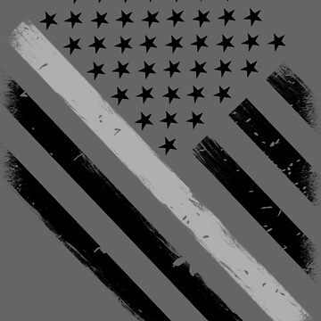 Thin Silver Line Flag Corrections Officer by bluelinegear