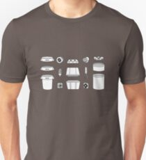 Pieces of a Space Bucket Unisex T-Shirt