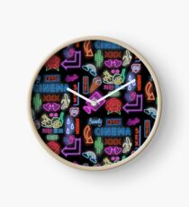 Neon Party Clock