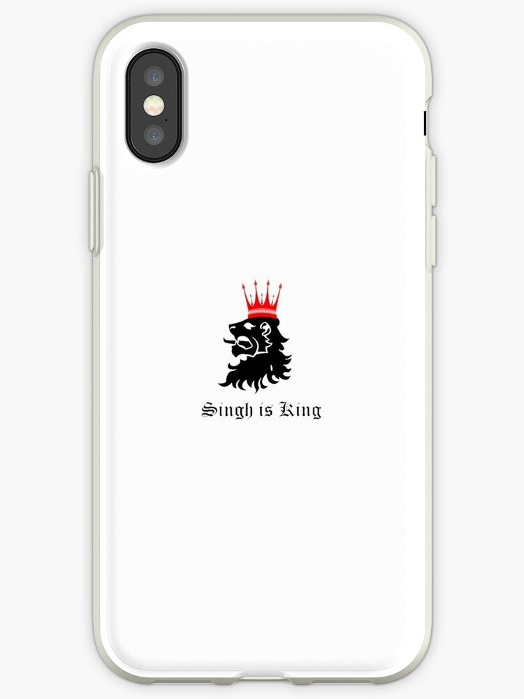 'Singh is King ' iPhone Case by Desilegend