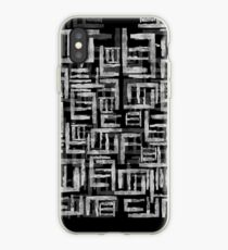 Abstract archaic shapes iPhone Case