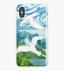Tropic birds of Polynesia iPhone Case/Skin