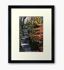 Water Course Donegal Ireland Framed Print