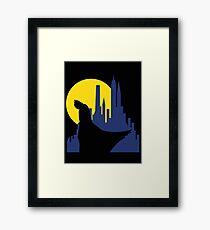Ruminating Bat Framed Print
