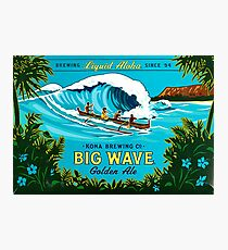 Kona Big Wave Photographic Print