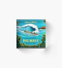 Kona Big Wave Acrylic Block
