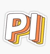 PI !! Sticker
