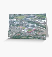 Sports Stadium Greeting Card