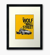 THE WOLF OF WALL STREET-LAMBORGHINI COUNTACH Framed Print