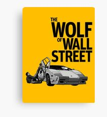 THE WOLF OF WALL STREET-LAMBORGHINI COUNTACH Canvas Print