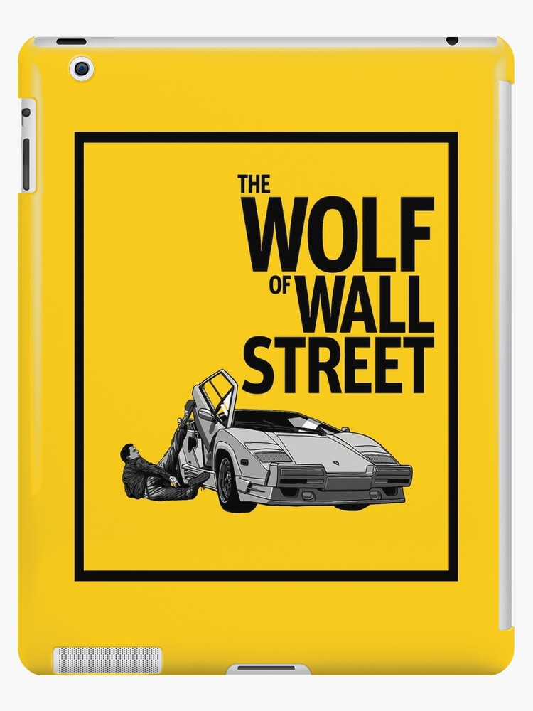 The Wolf Of Wall Street Lamborghini Countach Ipad Cases Skins By