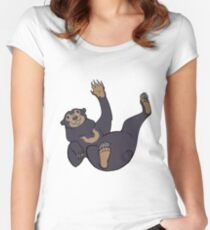 Sun Bear Fitted Scoop T-Shirt