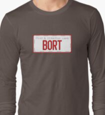 Bort License Plate Long Sleeve T-Shirt