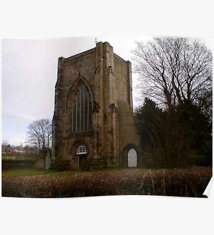 Beauchief Abbey,Sheffield. Poster