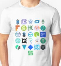 A to Z of Cryptocurrency (Crypto) Unisex T-Shirt