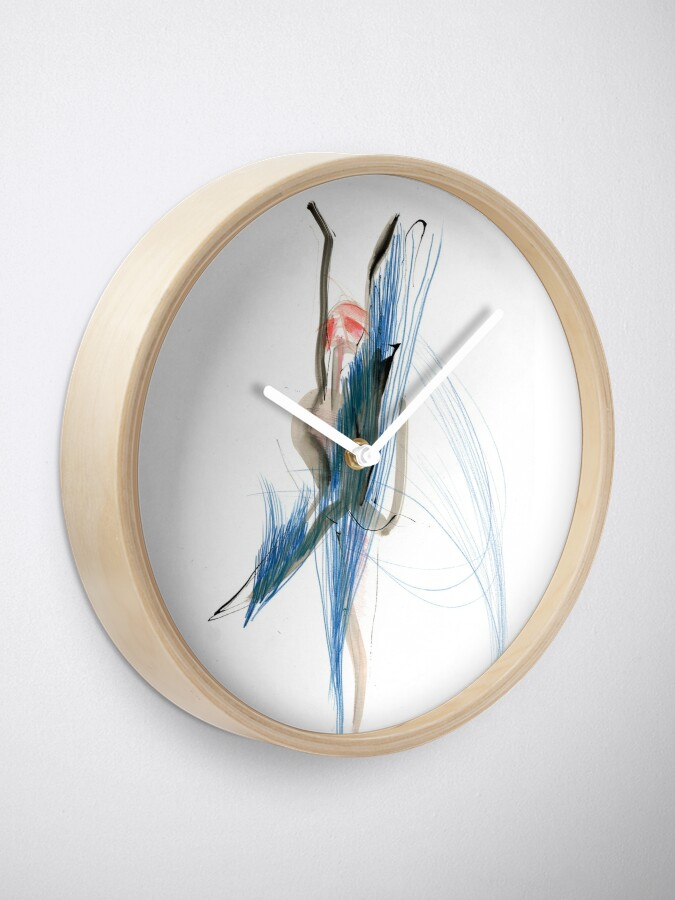 Alternate view of Expressive Dance Drawing Clock