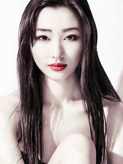 Quot Sensual Beauty Portrait Of Young Japanese Woman Face With