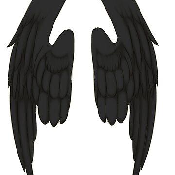 Black Wings by AtomicMilkshake