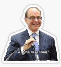 Northeastern President Aoun Co-Op Quote Sticker