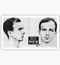 Lee Harvey Oswald Sticker