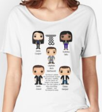 Torchwood Funko pops  Women's Relaxed Fit T-Shirt