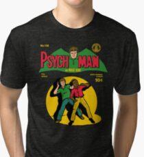 Psychman and Magic Head Tri-blend T-Shirt