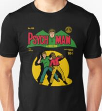 Psychman and Magic Head Unisex T-Shirt